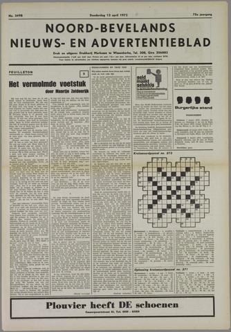 Noord-Bevelands Nieuws- en advertentieblad 1972-04-13