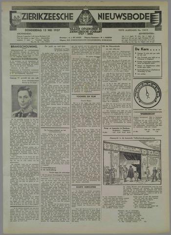 Zierikzeesche Nieuwsbode 1937-05-13