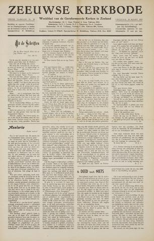 Zeeuwsche kerkbode, weekblad gewijd aan de belangen der gereformeerde kerken/ Zeeuwsch kerkblad 1955-03-18