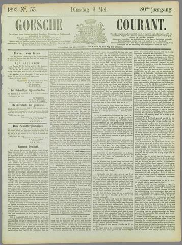 Goessche Courant 1893-05-09
