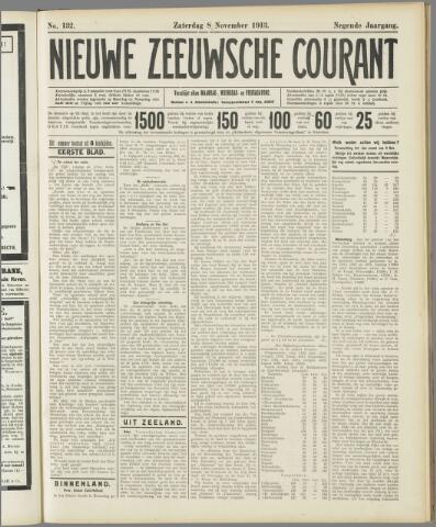 Nieuwe Zeeuwsche Courant 1913-11-08