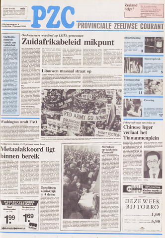 Provinciale Zeeuwse Courant 1990-01-11