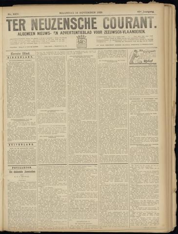 Ter Neuzensche Courant. Algemeen Nieuws- en Advertentieblad voor Zeeuwsch-Vlaanderen / Neuzensche Courant ... (idem) / (Algemeen) nieuws en advertentieblad voor Zeeuwsch-Vlaanderen 1929-11-18