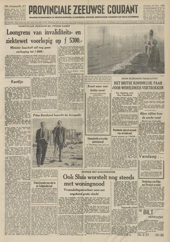 Provinciale Zeeuwse Courant 1953-11-24