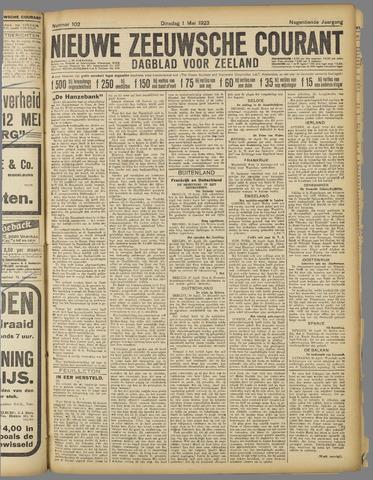 Nieuwe Zeeuwsche Courant 1923-05-01