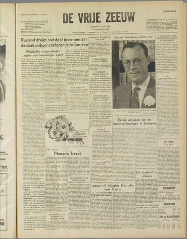 de Vrije Zeeuw 1958-06-27