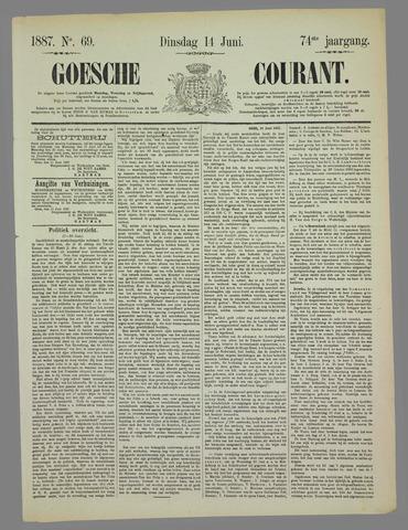 Goessche Courant 1887-06-14