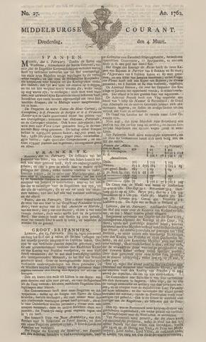 Middelburgsche Courant 1762-03-04