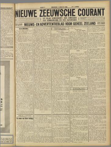 Nieuwe Zeeuwsche Courant 1933-08-03