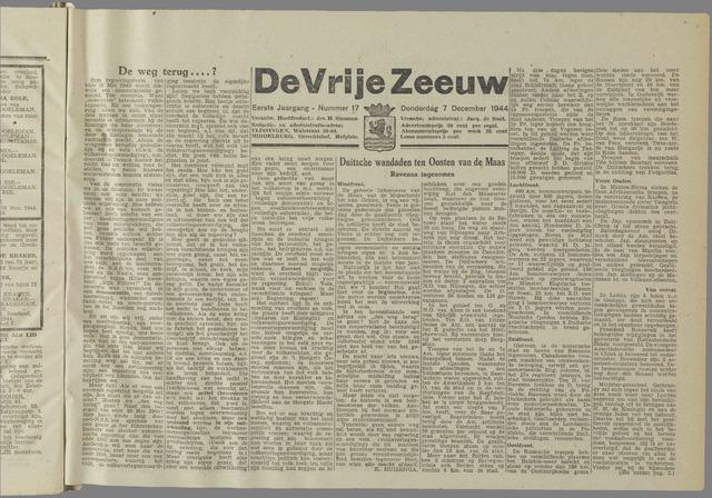 de Vrije Zeeuw 1944-12-07