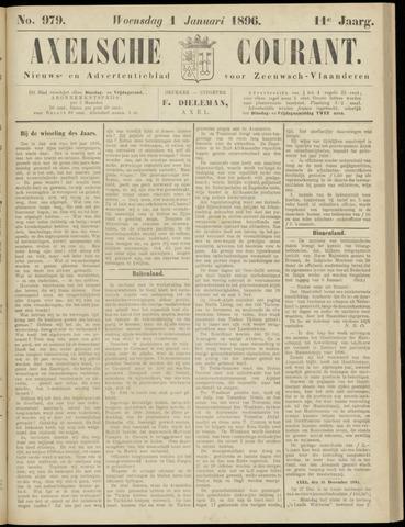 Axelsche Courant 1896