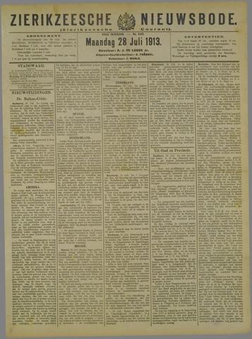 Zierikzeesche Nieuwsbode 1913-07-28