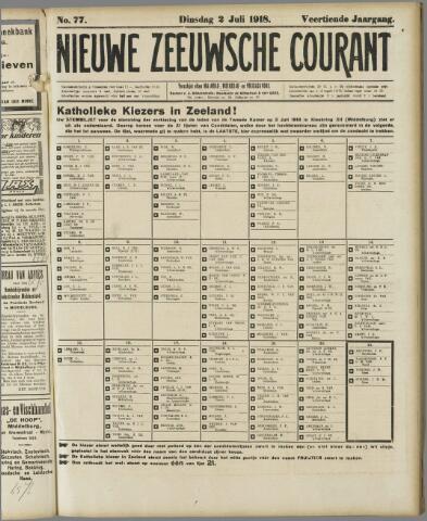 Nieuwe Zeeuwsche Courant 1918-07-02
