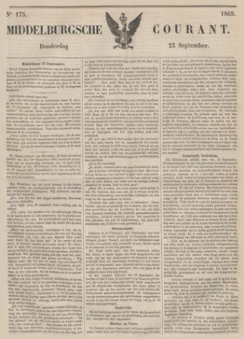 Middelburgsche Courant 1869-09-23
