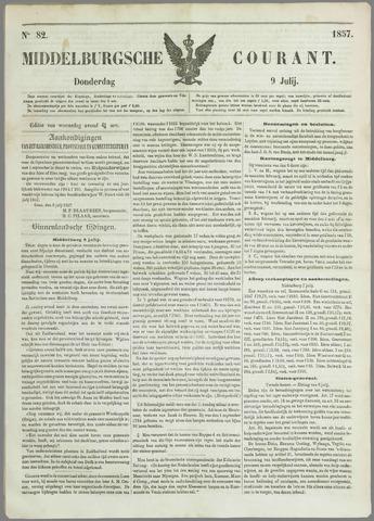 Middelburgsche Courant 1857-07-09