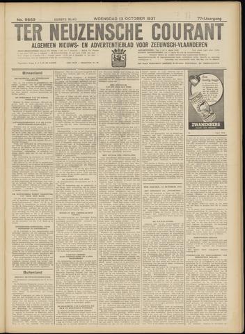 Ter Neuzensche Courant. Algemeen Nieuws- en Advertentieblad voor Zeeuwsch-Vlaanderen / Neuzensche Courant ... (idem) / (Algemeen) nieuws en advertentieblad voor Zeeuwsch-Vlaanderen 1937-10-13