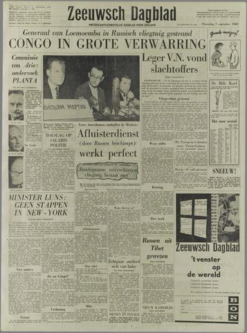 Zeeuwsch Dagblad 1960-09-07
