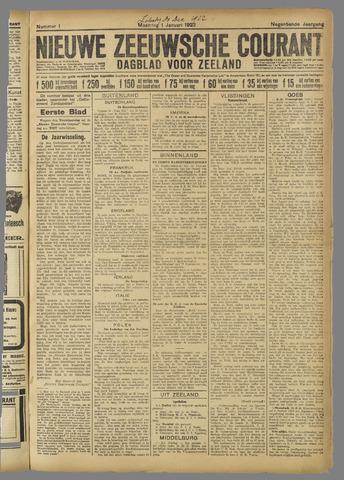 Nieuwe Zeeuwsche Courant 1922-01-01