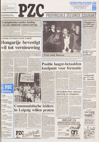 Provinciale Zeeuwse Courant 1989-10-10