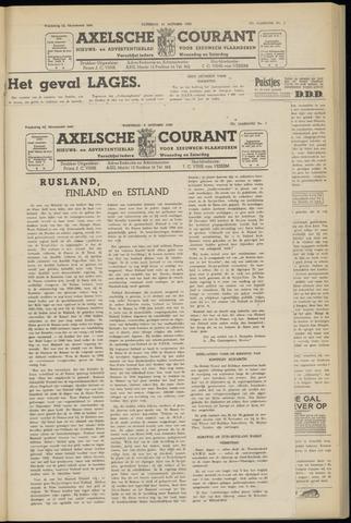 Axelsche Courant 1952-10-08