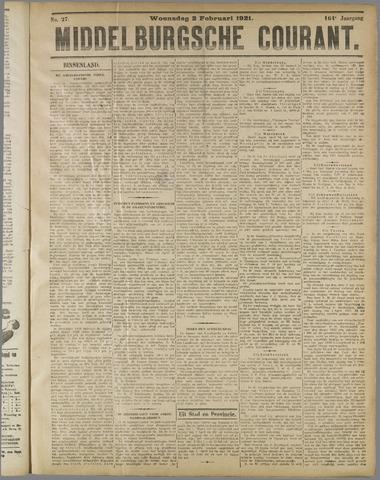 Middelburgsche Courant 1921-02-02