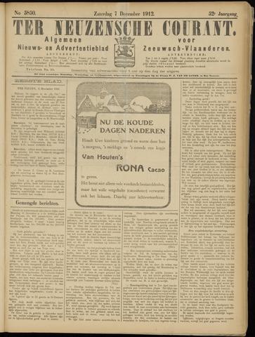 Ter Neuzensche Courant. Algemeen Nieuws- en Advertentieblad voor Zeeuwsch-Vlaanderen / Neuzensche Courant ... (idem) / (Algemeen) nieuws en advertentieblad voor Zeeuwsch-Vlaanderen 1912-12-07