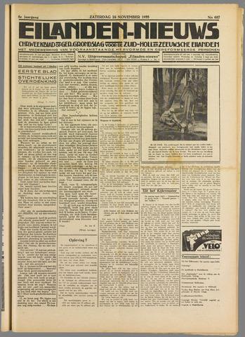 Eilanden-nieuws. Christelijk streekblad op gereformeerde grondslag 1935-11-16