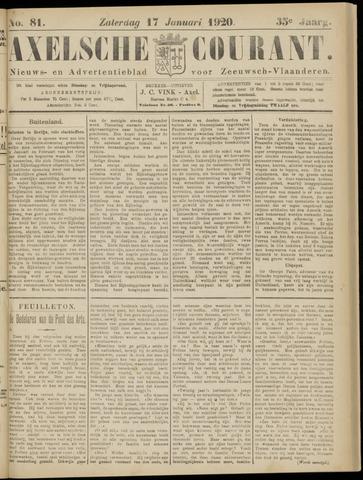 Axelsche Courant 1920-01-17