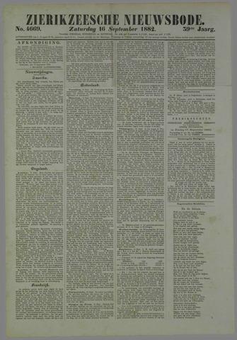 Zierikzeesche Nieuwsbode 1882-09-16