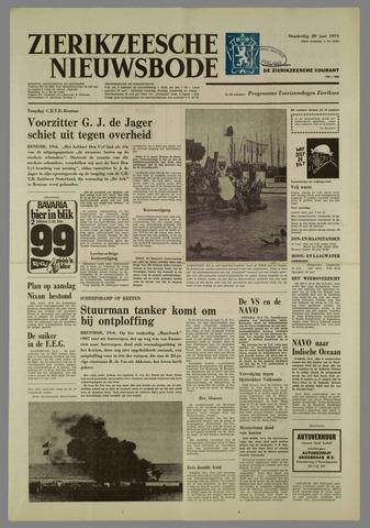 Zierikzeesche Nieuwsbode 1974-06-20