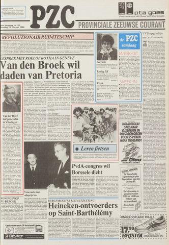 Provinciale Zeeuwse Courant 1986-02-15
