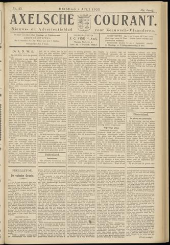 Axelsche Courant 1933-07-04