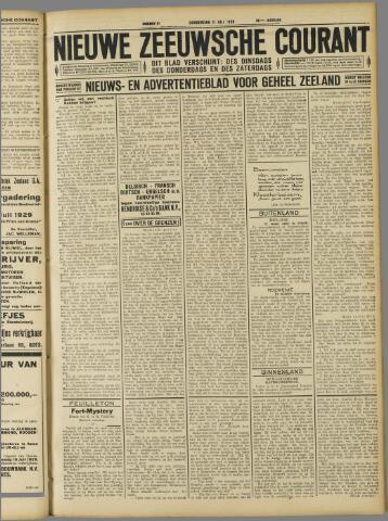 Nieuwe Zeeuwsche Courant 1929-07-11