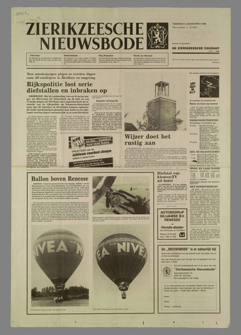 Zierikzeesche Nieuwsbode 1985-08-02