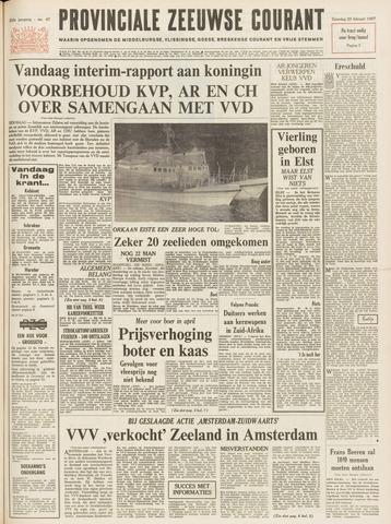 Provinciale Zeeuwse Courant 1967-02-25