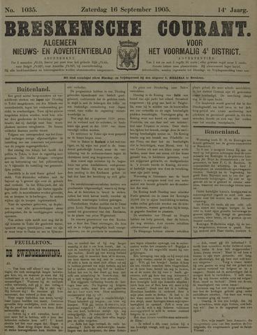 Breskensche Courant 1905-09-16
