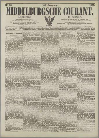 Middelburgsche Courant 1895-02-14