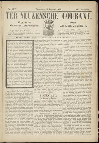 Ter Neuzensche Courant. Algemeen Nieuws- en Advertentieblad voor Zeeuwsch-Vlaanderen / Neuzensche Courant ... (idem) / (Algemeen) nieuws en advertentieblad voor Zeeuwsch-Vlaanderen 1879-01-15