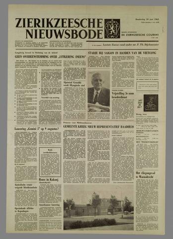 Zierikzeesche Nieuwsbode 1965-06-10