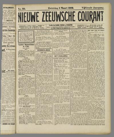 Nieuwe Zeeuwsche Courant 1919-03-01
