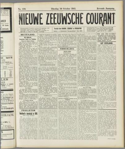 Nieuwe Zeeuwsche Courant 1911-10-10