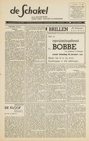 De Schakel 1963-01-11