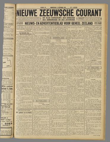 Nieuwe Zeeuwsche Courant 1931-12-17