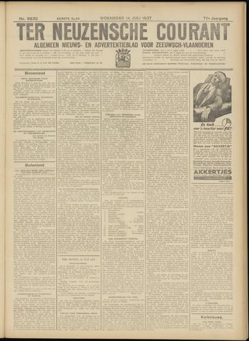 Ter Neuzensche Courant. Algemeen Nieuws- en Advertentieblad voor Zeeuwsch-Vlaanderen / Neuzensche Courant ... (idem) / (Algemeen) nieuws en advertentieblad voor Zeeuwsch-Vlaanderen 1937-07-14