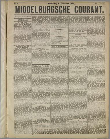 Middelburgsche Courant 1921-01-08