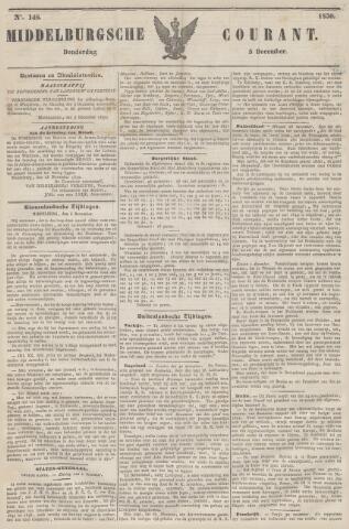 Middelburgsche Courant 1850-12-05