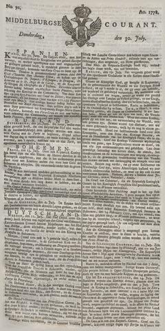 Middelburgsche Courant 1778-07-30
