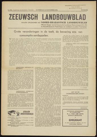 Zeeuwsch landbouwblad ... ZLM land- en tuinbouwblad 1954-11-13