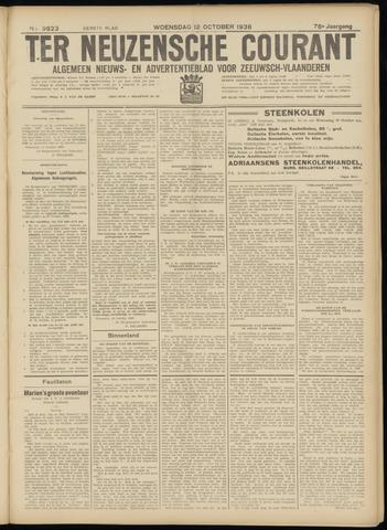 Ter Neuzensche Courant. Algemeen Nieuws- en Advertentieblad voor Zeeuwsch-Vlaanderen / Neuzensche Courant ... (idem) / (Algemeen) nieuws en advertentieblad voor Zeeuwsch-Vlaanderen 1938-10-12