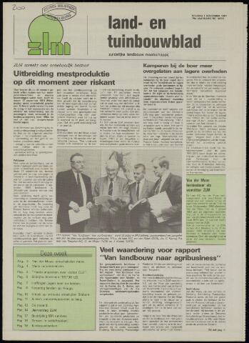 Zeeuwsch landbouwblad ... ZLM land- en tuinbouwblad 1991-11-01